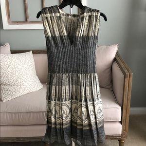 Gold and silver Max Studio dress